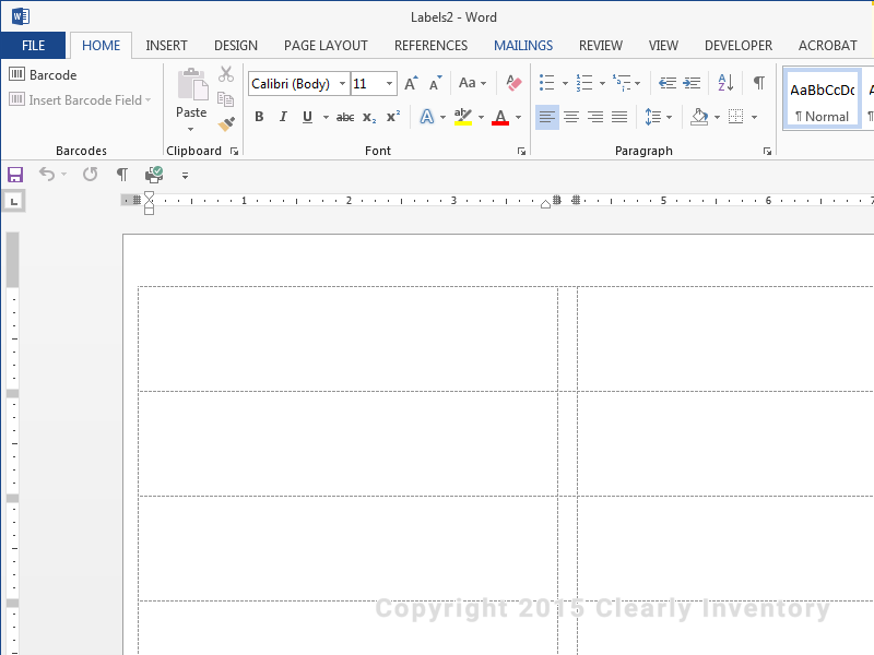 Word Sticker Template How To Create A Microsoft Word Label Template