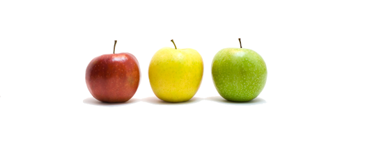 Apples signify the benefits of clearly inventory's online inventory tracking application.